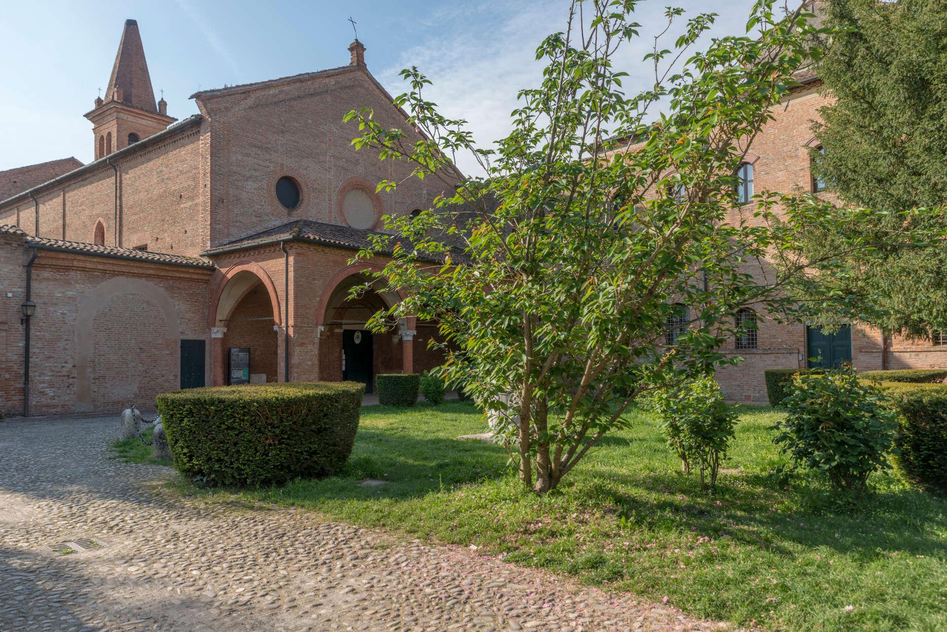 Ferrara, Monasterodi Sant'Antonio in Polesine,  ph. LeImmagini, Archivio Destinazione Romagna