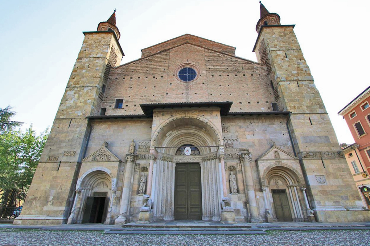 The Romanesque cathedral of San Donnino (Fidenza)