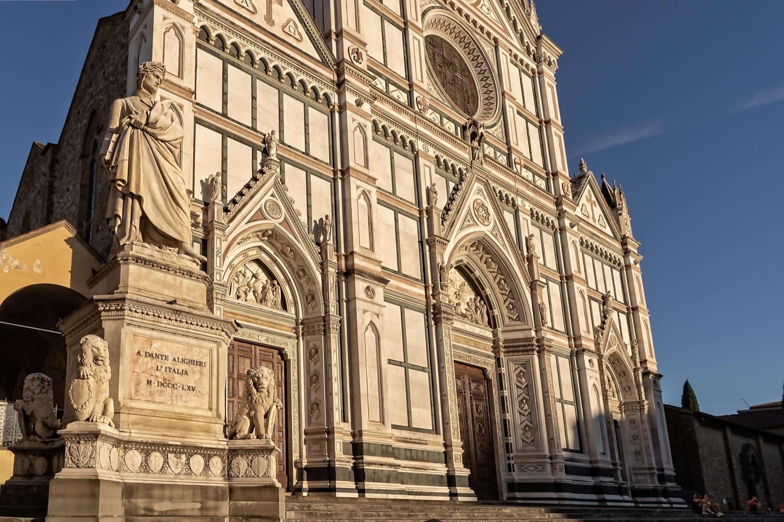 Firenze, Santa Croce - Roads of Dante