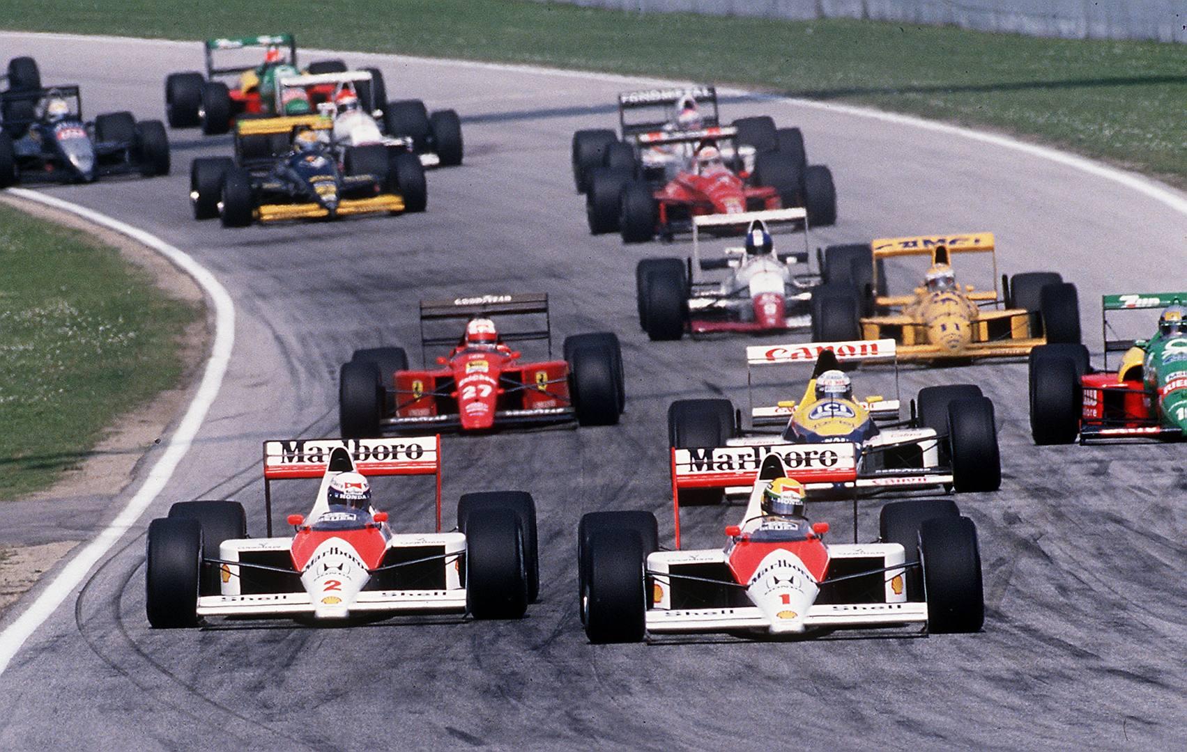 The legendary Imola race circuit