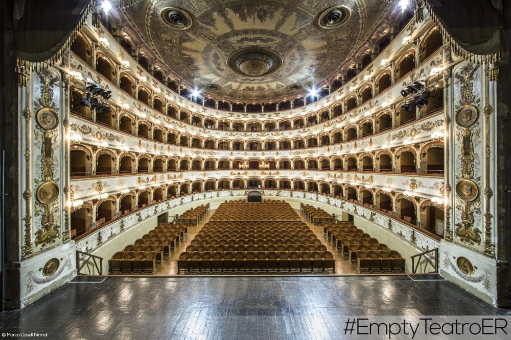 EmptyTeatroER: visite esclusive nei teatri dell'Emilia-Romagna