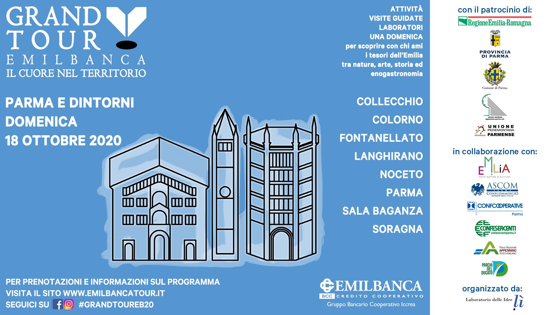 Grand Tour Emil Banca - Parma e dintorni 1920 x 1080