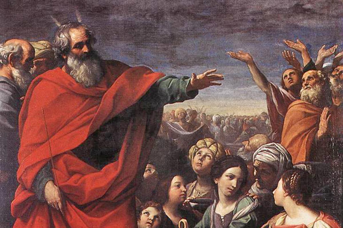 Guido Reni, The Gathering of the Manna (Duomo, Ravenna)