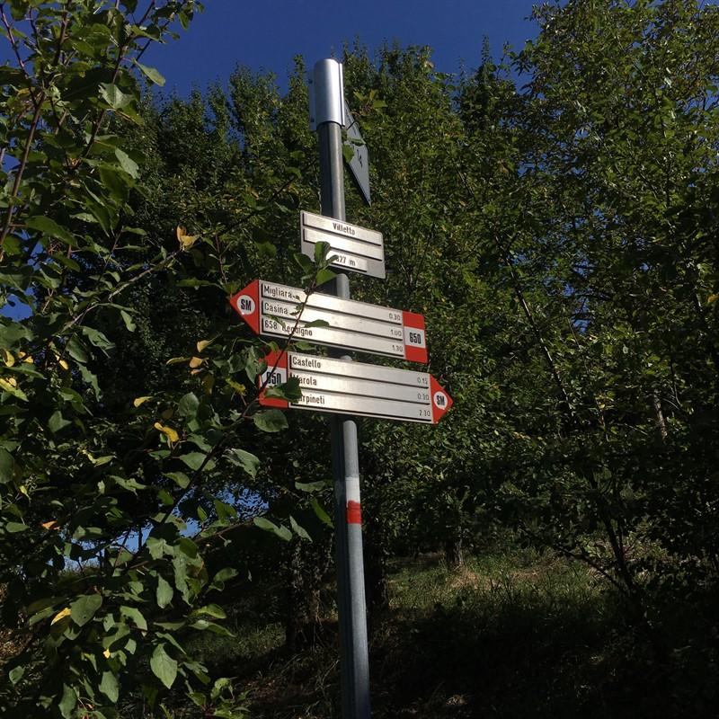 Segnali Via Matildica – Ph. Walter Manni