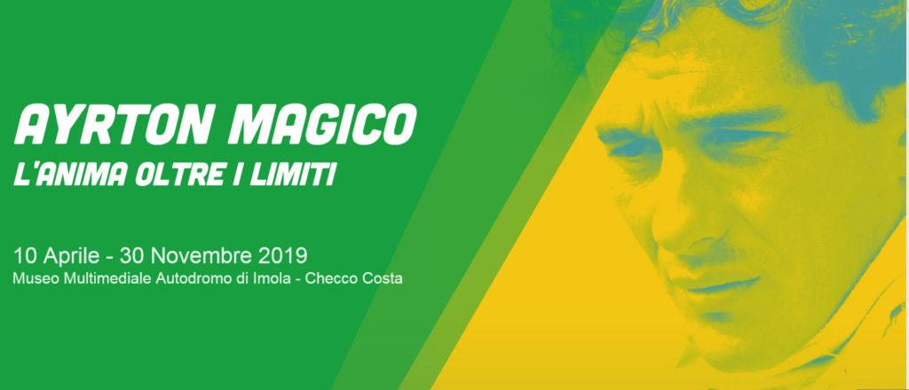 Bologna – AYRTON MAGICO. L'anima oltre i limiti