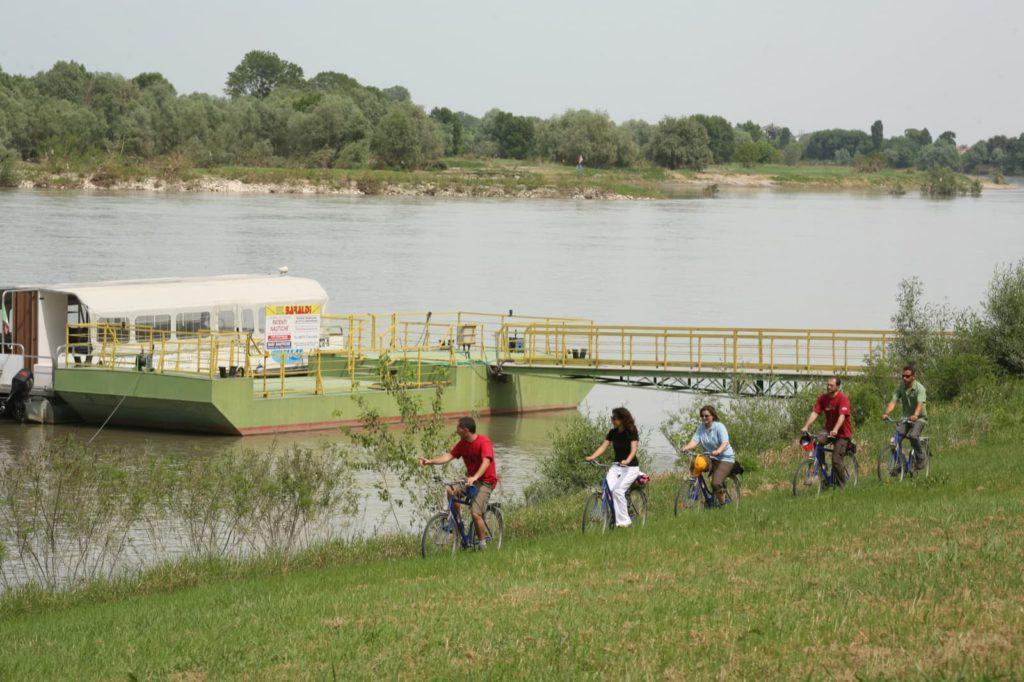 In bici lungo il Grande Fiume Ph. Visit Emilia