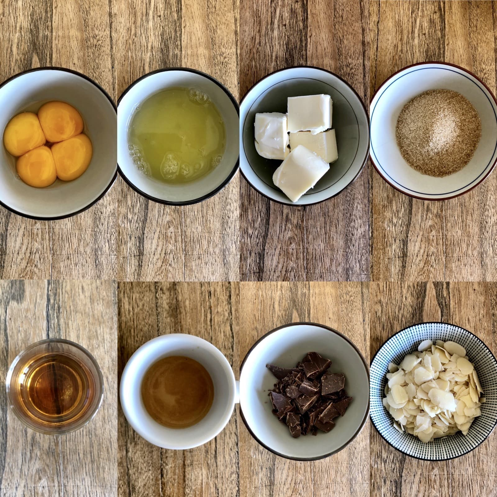 Torta Barozzi Ingredients   Ph. Federica Cortezzi