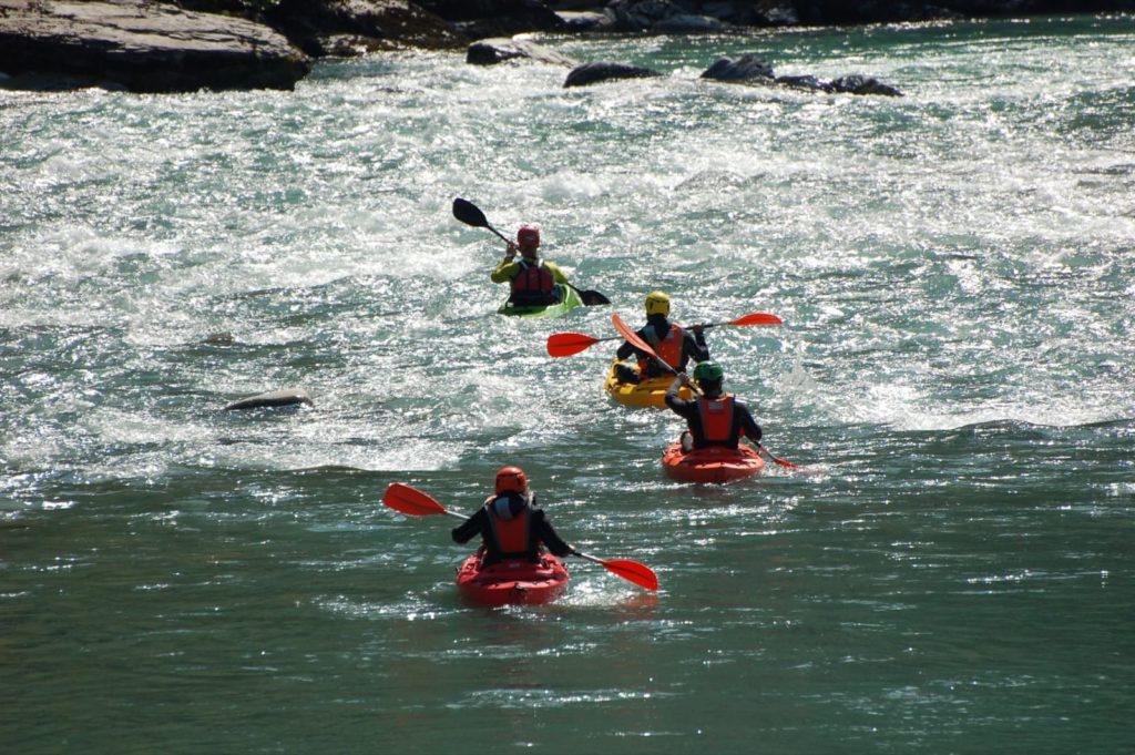 Kayak nel Parco Avventura Val Trebbia, Coli (PC)