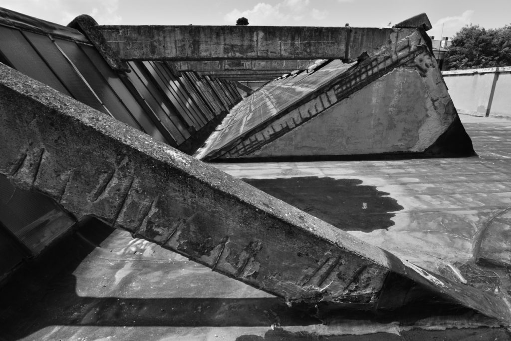 Lavori in trascorso | Bus depot (ATR Piazzetta Savonarola – Forlì) | Photo by Luca Massari