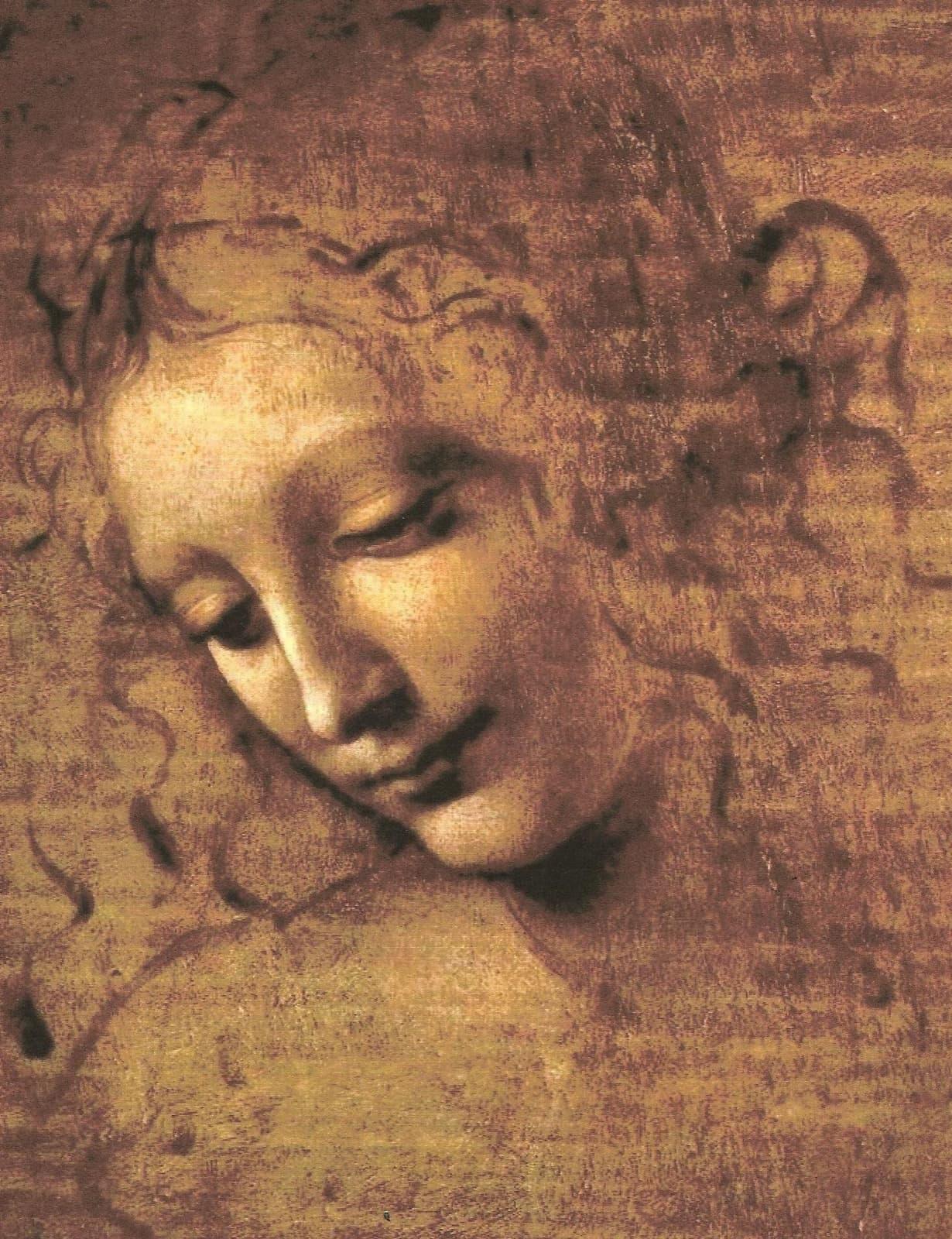 Leonardo da Vinci's La Scapigliata