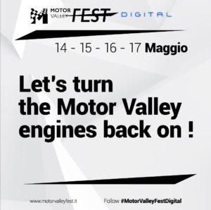 Motor Valley Fest Digital: 6 eventi da non perdere