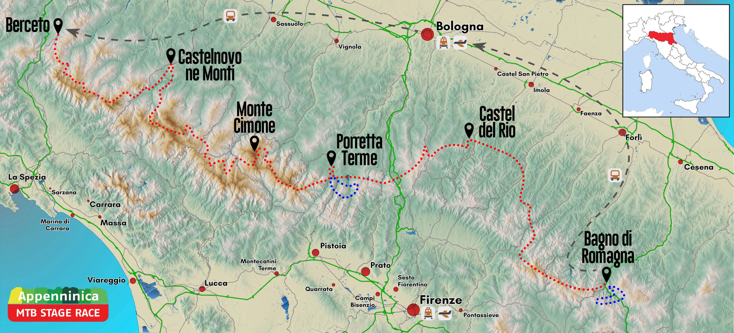 Mappa AppenninicaMTB