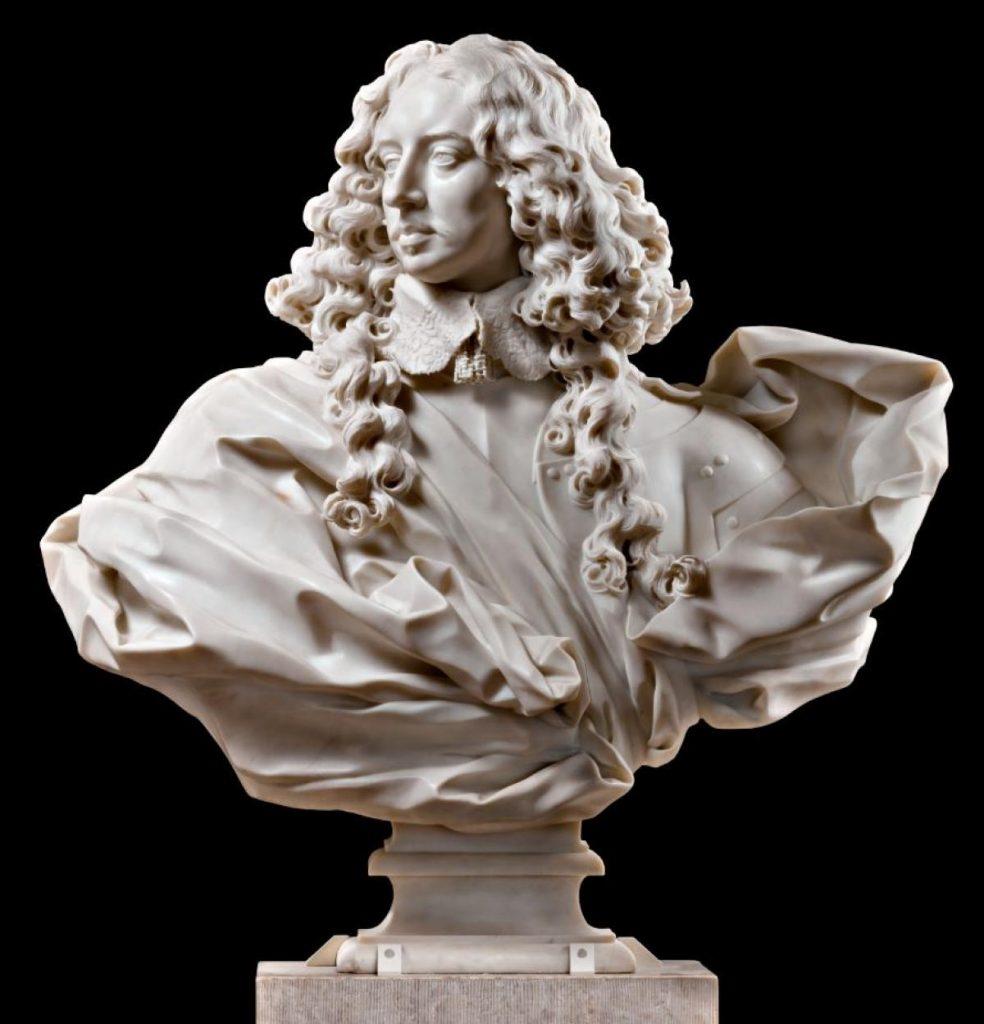 Gian Lorenzo Bernini, Bust of Francesco I d'Este (Gallerie Estensi, Modena)