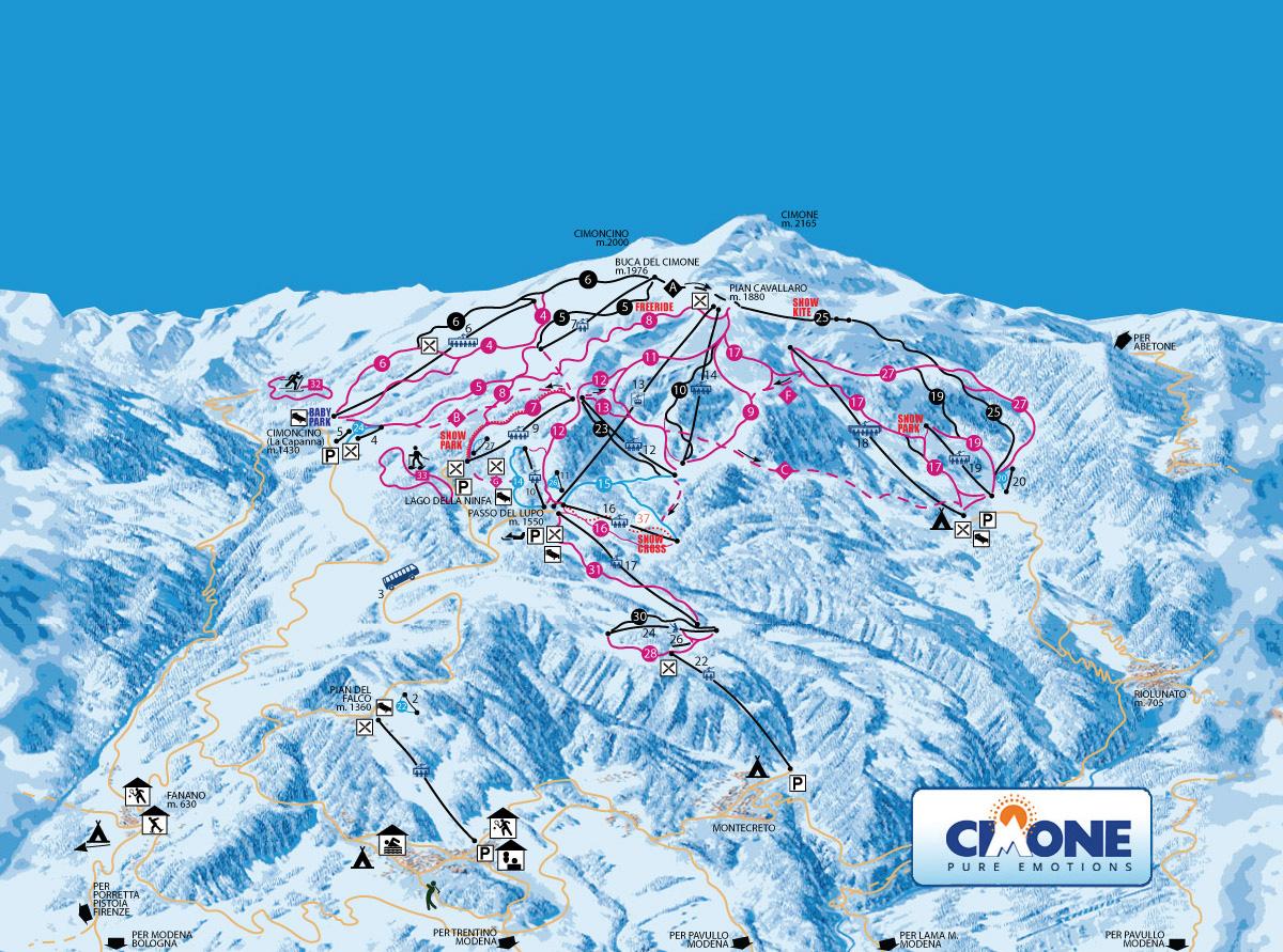Where to Ski in Emilia Romagna