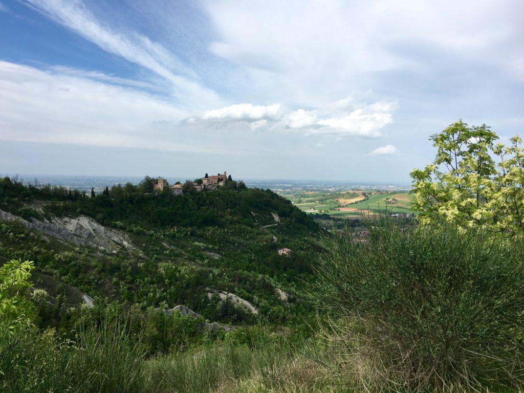 Monteveglio vista da Pignoletto