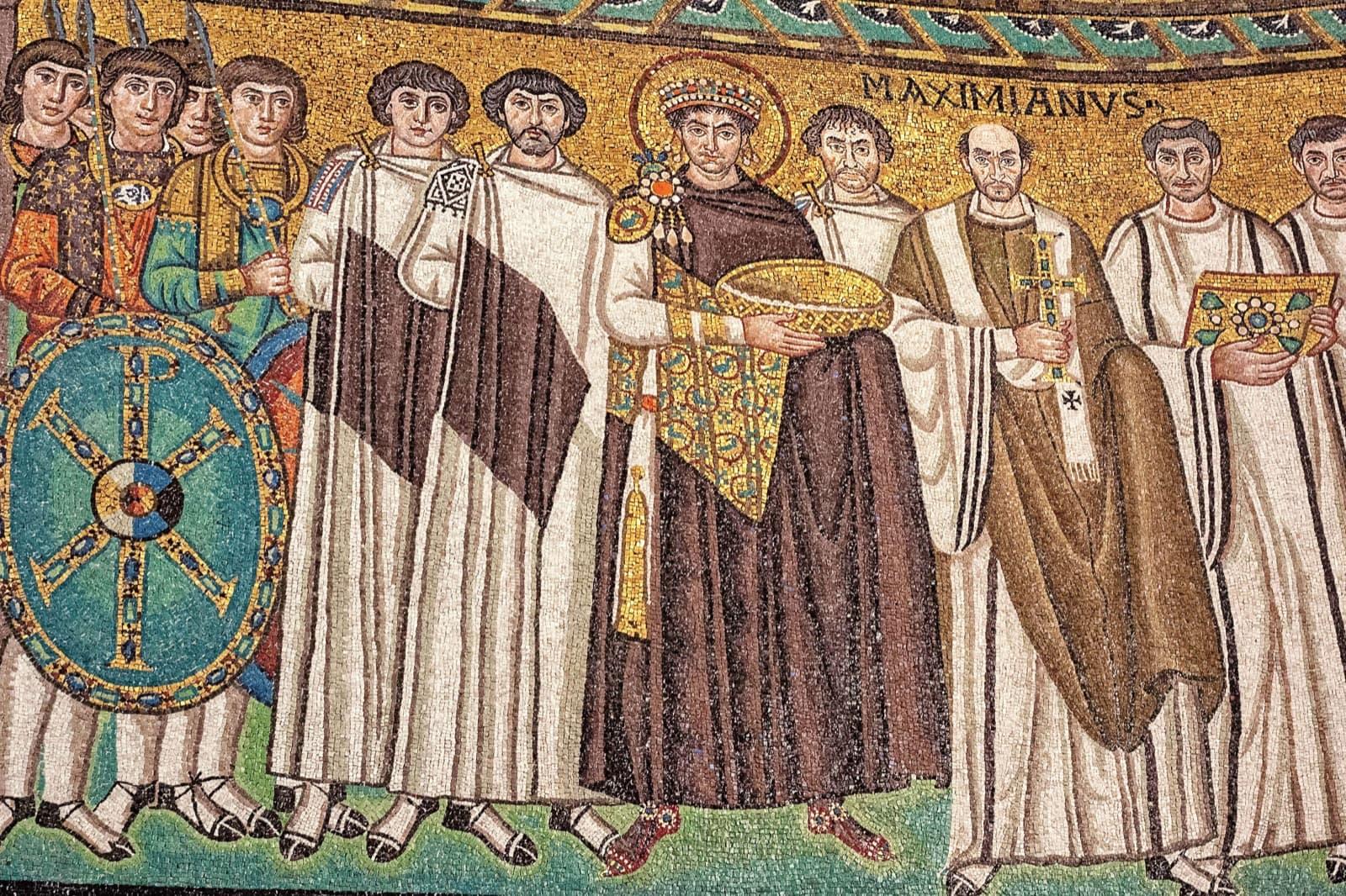 Ravenna 's Mosaics - Roads of Dante