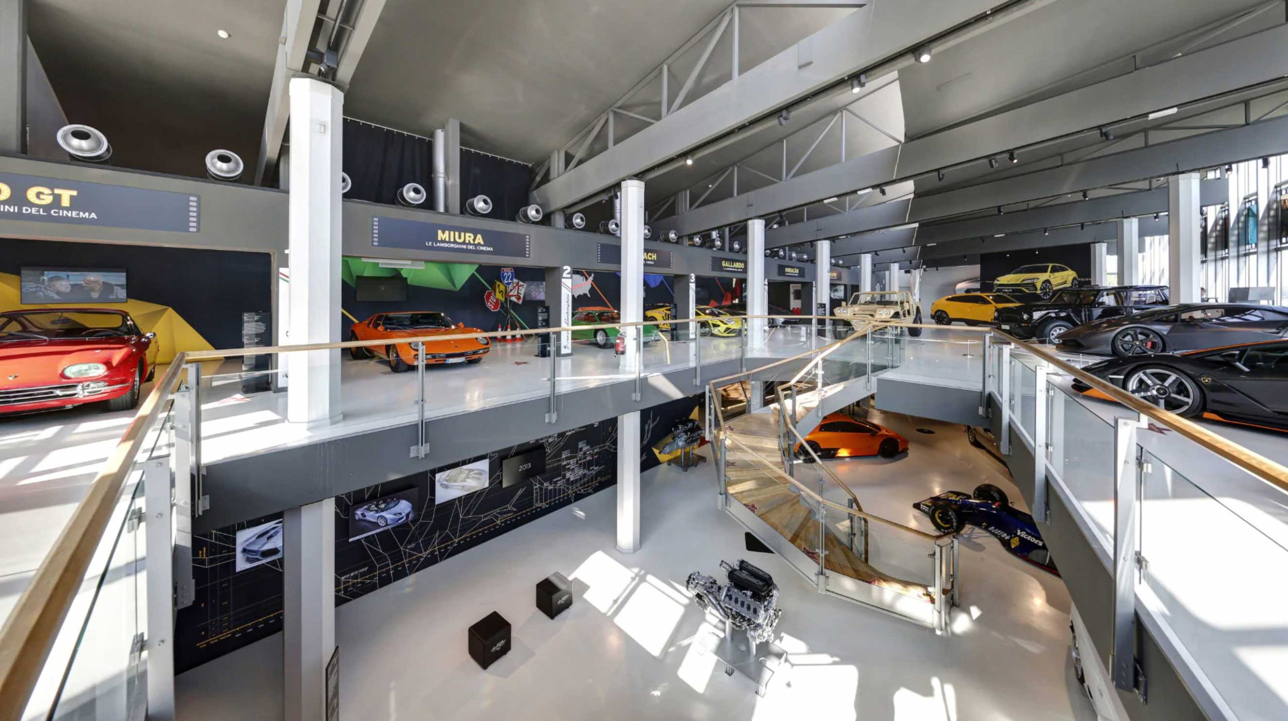 The Lamborghini Museum in Sant'Agata Bolognese