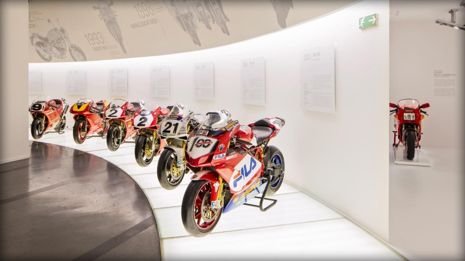 The Ducati Museum in Borgo Panigale