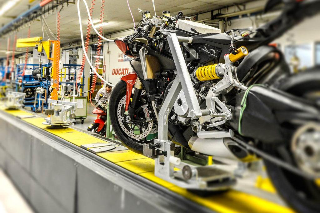Visiting Ducati | Photo © ducati.it