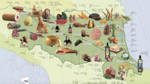 Tutti i frutti della terra: prodotti e sapori della tradizione dell'Emilia Romagna