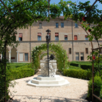 Ferrara, Palazzo Costabili, giardino rinascimentale | Ph. archeoferrara.beniculturali.it