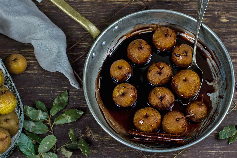 Pears and Sangiovese  Photo © latagliatellanuda.ifood.it