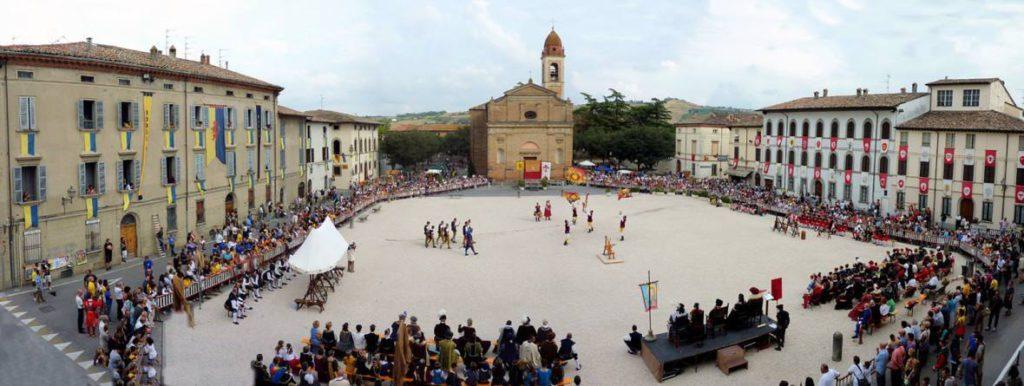 Santa Reparata's Palio's Crossbow race | ph. ProLoco Terra del Sole