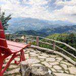 Panchina gigante Monte Fosola Ph. @simonepiumi via Instagram
