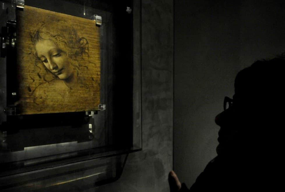 La Scapiliata by Leonardo da Vinci