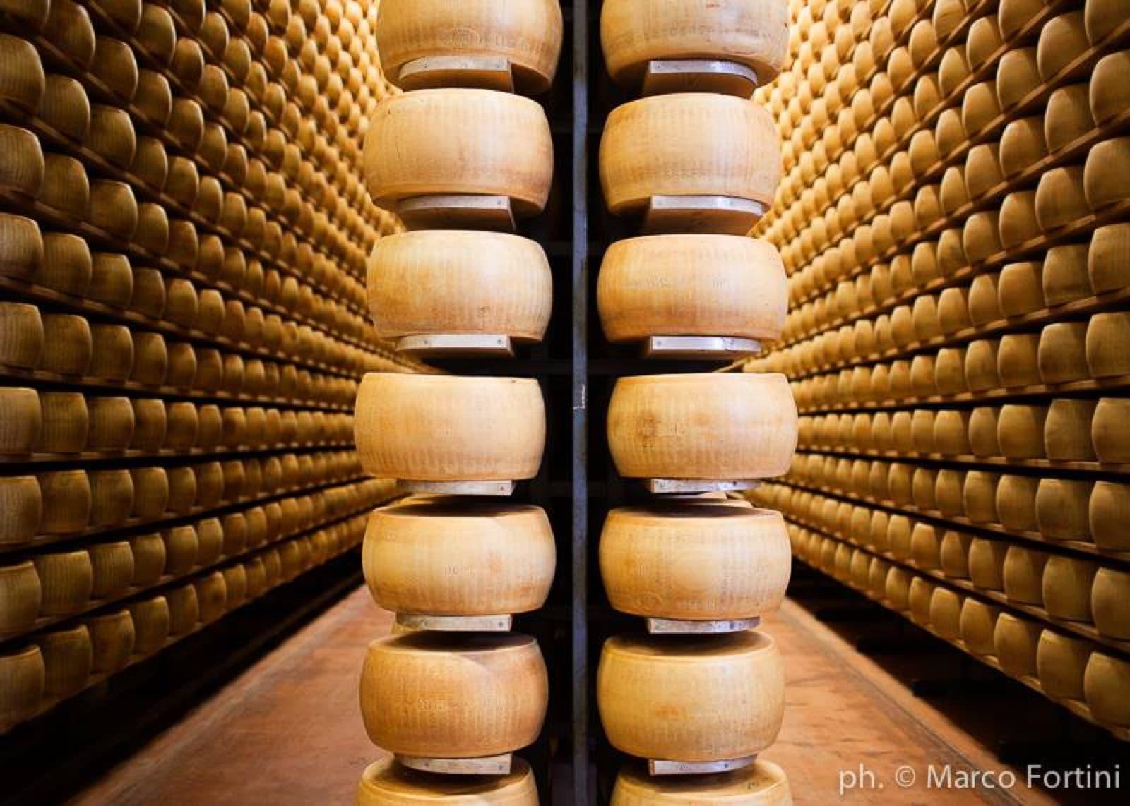 Parmigiano Reggiano | Ph. Marco Fortini