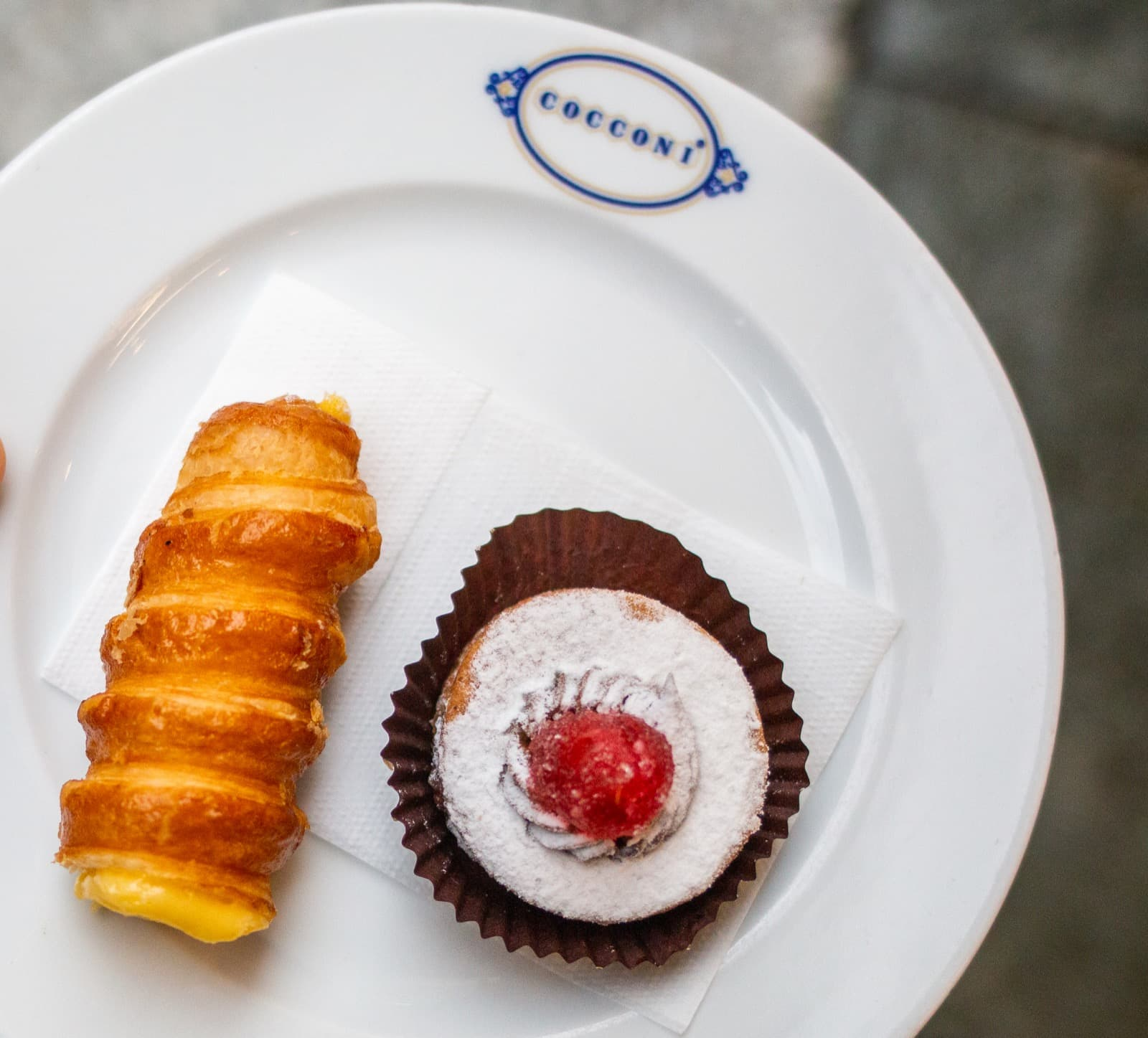 Pastries at Pasticceria Cocconi, Parma Ph. 2FoodTrippers