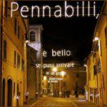 Pennabilli (RN), luminarie Tonino Guerra ph @proloco_pennabilli