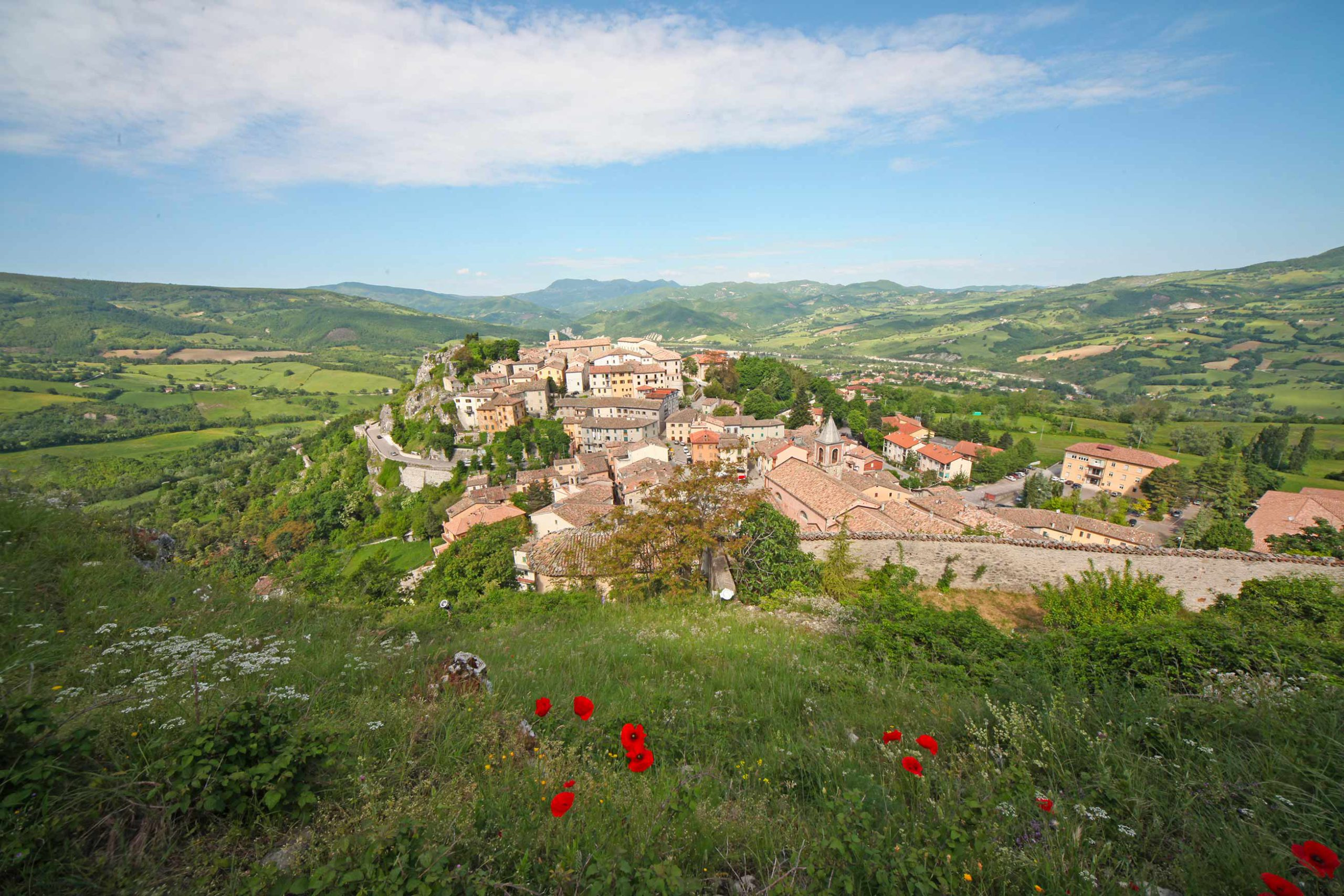 Pennabilli, one of the most beautiful villages in Emilia-Romagna