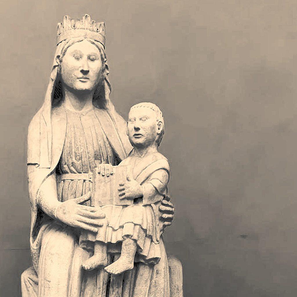 Piacenza, Madonna Antelamica su Palazzo Gotico | Ph. Archivio Comune di Piacenza