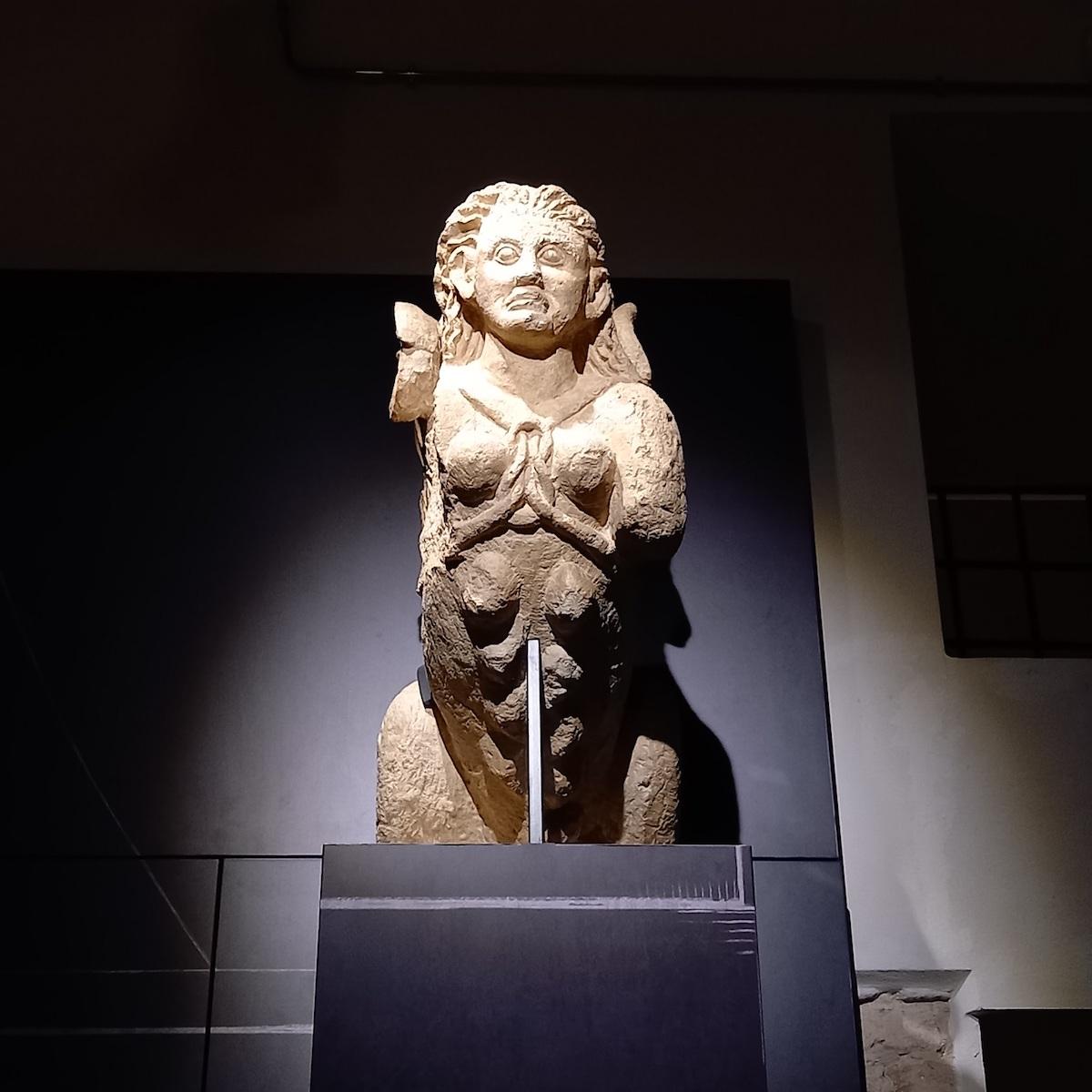 Piacenza, Museo Archeologico,Sfinge, ph. Archivio Comune di Piacenza