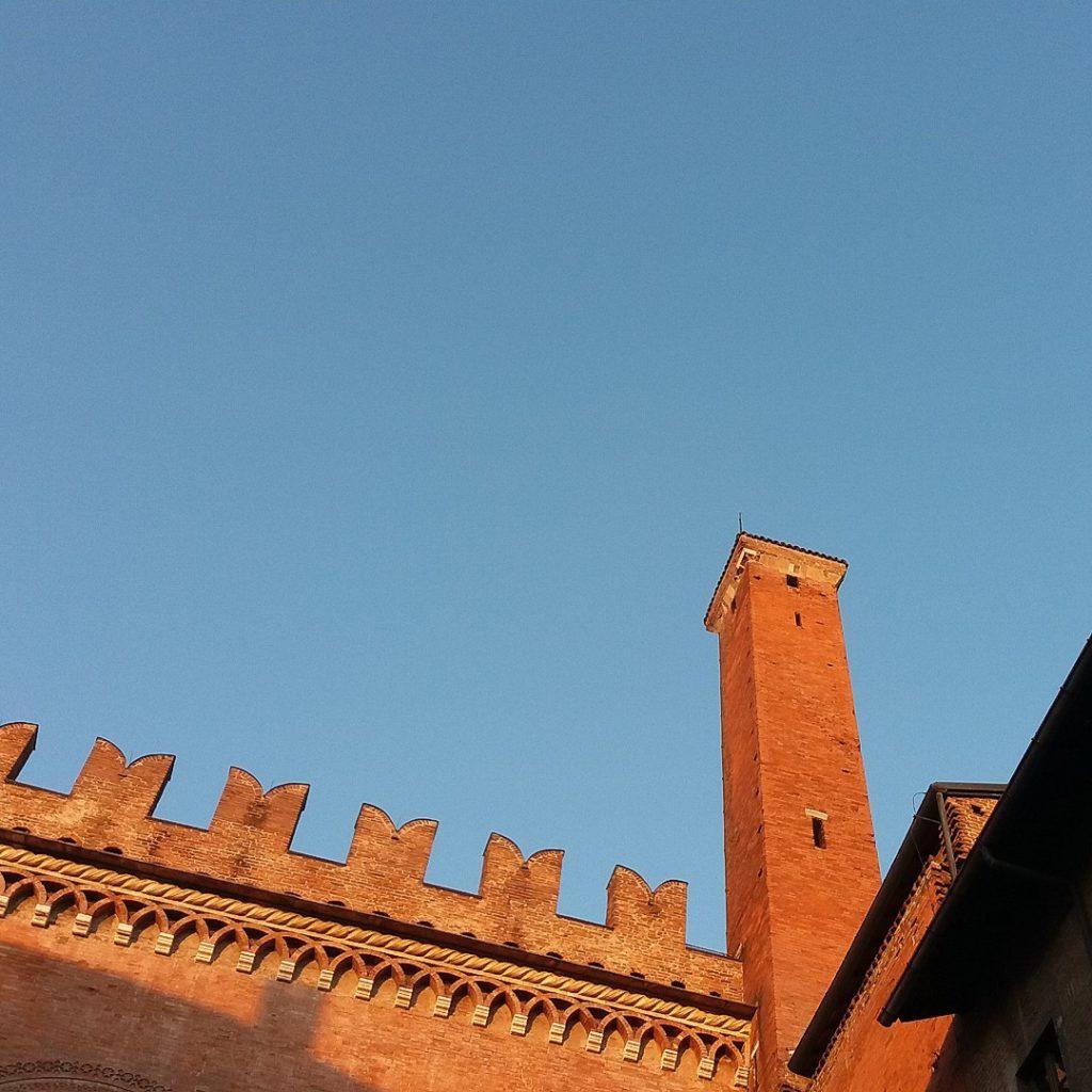 Piacenza, torretta di Palazzo Gotico | Ph. Archivio Comune di Piacenza