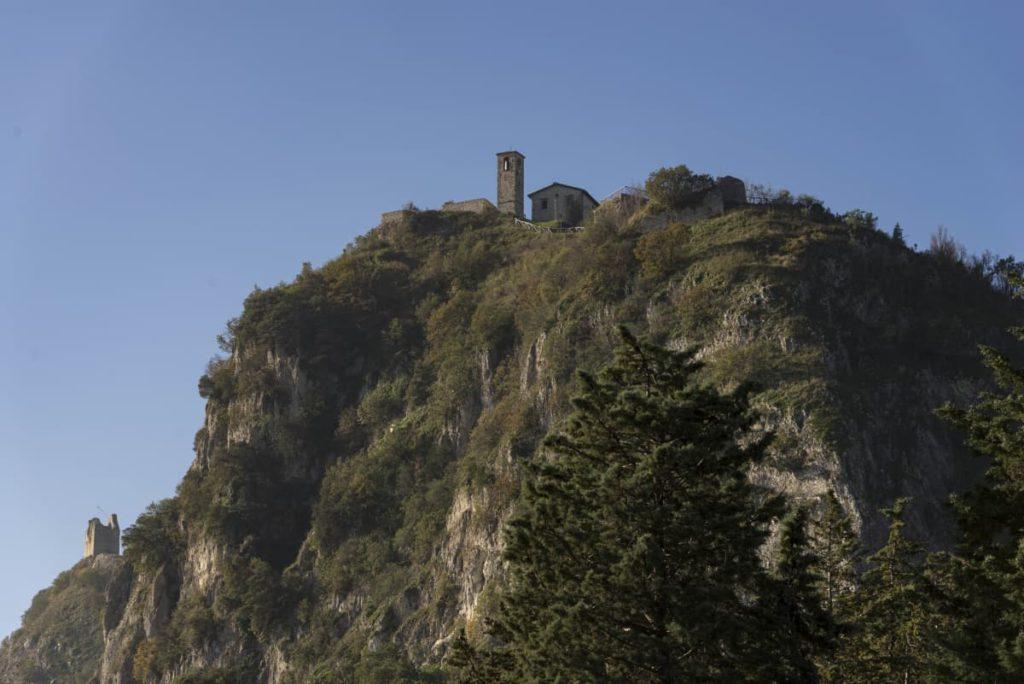 Poggio Torriana (RN), torre della Scorticata, ph. Riccardo Gallini, archivio VisitRomagna