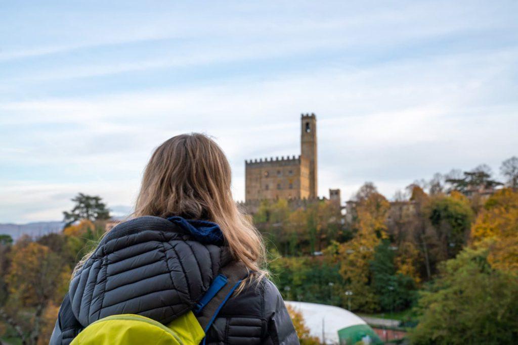 Poppi, Castello – Vie di Dante