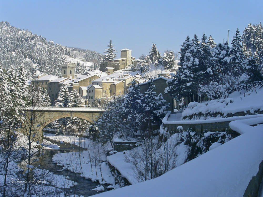 Premilcuore under the snow | Ph. TurismoPremilcuore via Facebook