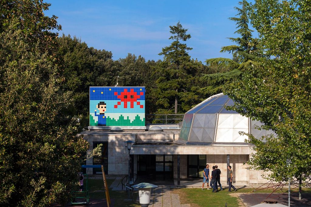 Invader | Planetarium | Ravenna