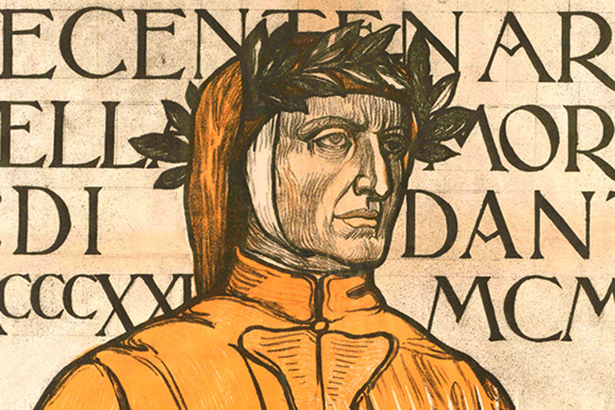 Ravenna, Inclusa est flamma, Galileo Chini, Archivio Biblioteca Classense