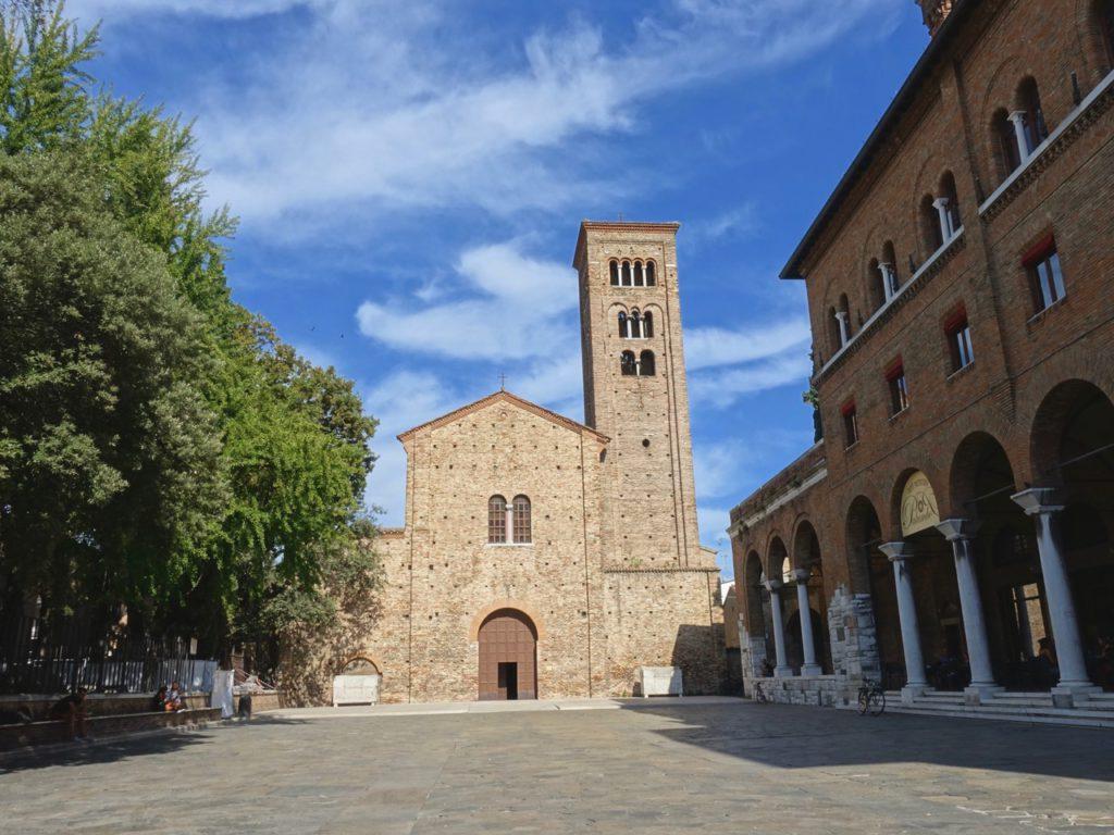 Ravenna, Piazza San Francesco, ph. Melanie Chilesotti – sentieriliberi.com