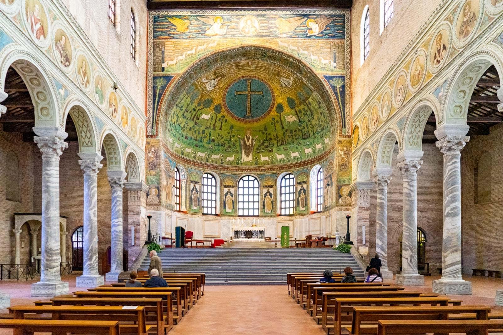 Ravenna, Sant'Apollinare in Classe Basilica | Ph. Michael Turtle