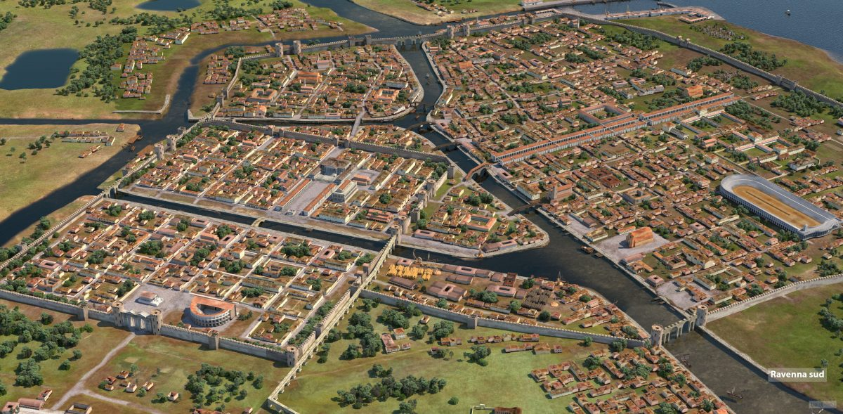 Ravenna (6th century)   Photo rendering © design.tre.digital