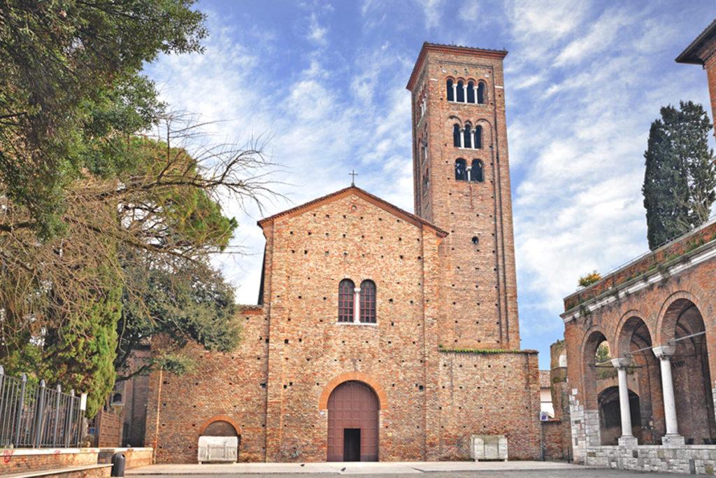 Basilica San Francesco (Ravenna) Ph. Comune di Ravenna