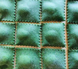 Homemade Ravioli with Nettles
