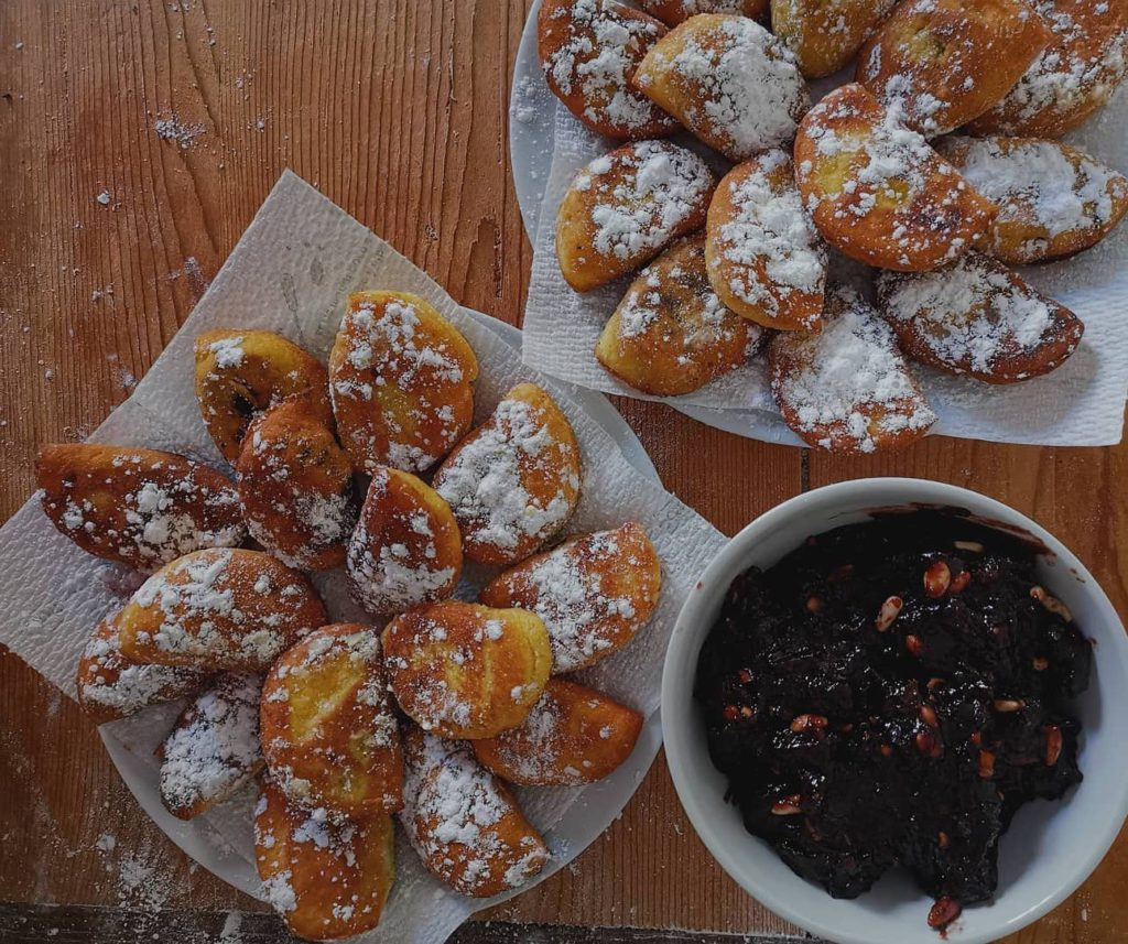 Reggio Emilia, tortellini dolci fritti Ph. @marghe2727 via Instagram