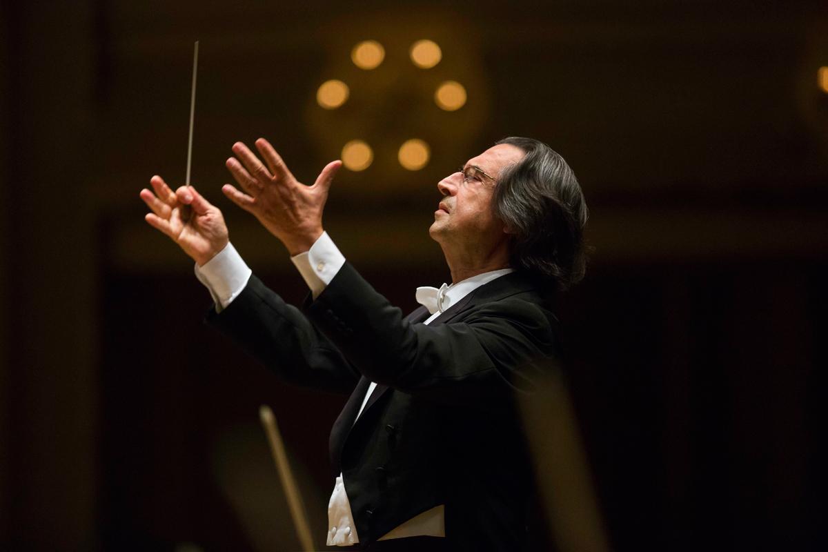 Riccardo Muti   Photo © Todd Rosenberg