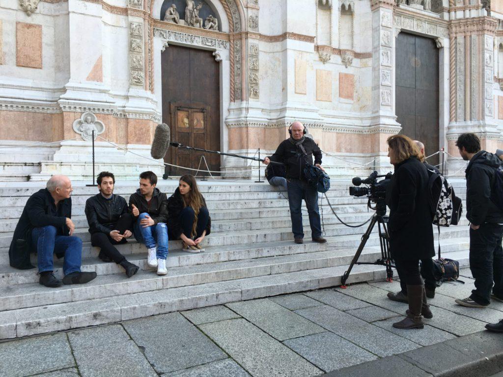 Rick Stein in Bologna. Ph. Enrica Lazzarini