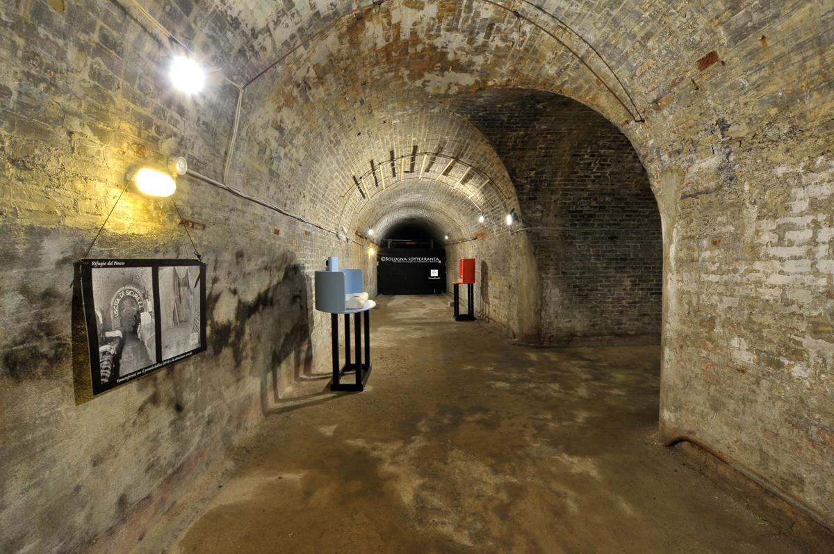 Pincio's Air-raid shelter, Bologna